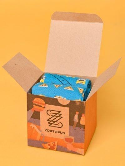Budapest Box benne villamosos és street food zoknival