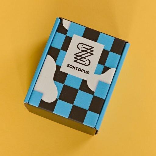 Geometriai box felülről nézve